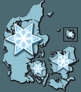 Snerydning i Frederikshavn
